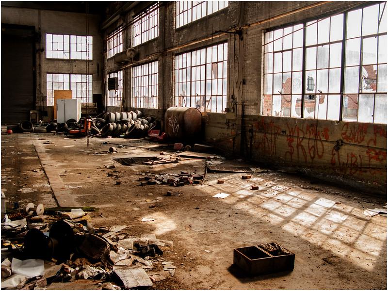 Troy NY  Factory Interior 3 2008