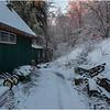 NYS Cambridge NY Side of Joe's House December 2008