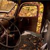 Adirondacks Essex Chain Parking Lot Old Truck Detail 5 October 2013