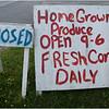 Merrill NY Corn Stand Sign July 2010