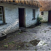 Ireland County Clare Bunratty Thatched Roof Houses 1 September 2017