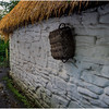 Ireland County Clare Bunratty Thatched Roof Houses 2 September 2017