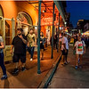Louisiana New Orleans French Quarter Street Life Night 25 March 2018