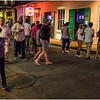Louisiana New Orleans French Quarter Street Life Night 22 March 2018