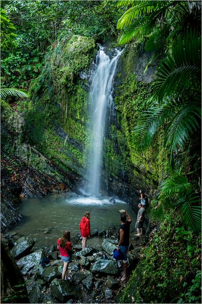 Puerto Rico February 2016 El Yunque Juan Diego Falls 4