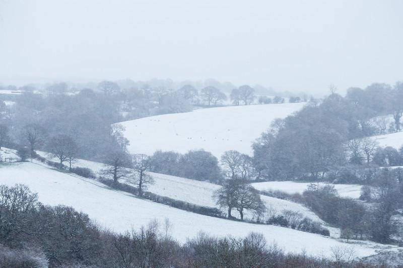 Caerleon Snowy Views