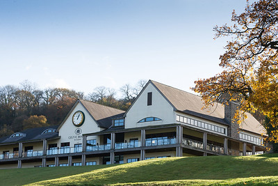 Photographs of the 2010 Ryder Cup Club House at the Celtic Manor