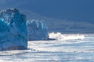 Alaskan Glaciers Breaking  3