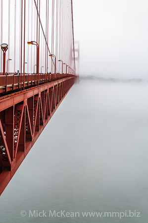 Bridge into the mist