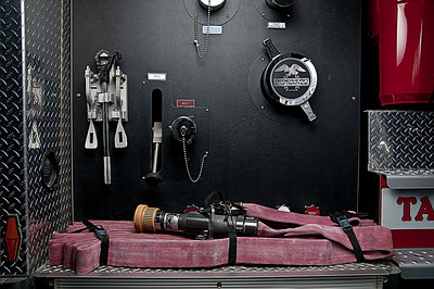 Gear & Controls on Side of Tanker