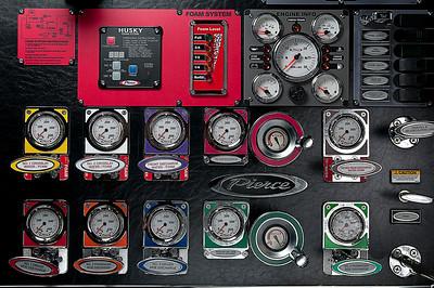 Tanker Instrument Panel