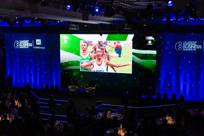 """Mo"" Farah at the National Business Awards"