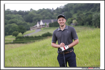 Portrait Photography of the Blue Eyed Golfer by Pradip Kotecha