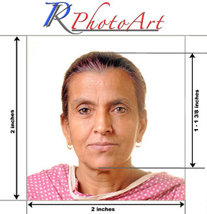 Indian Passport photographs by PK Photo Art