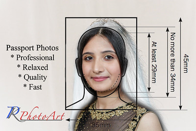 Quality Photographs for your India Passports.