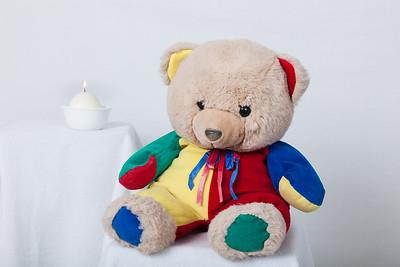 Candle lit Teddy bear