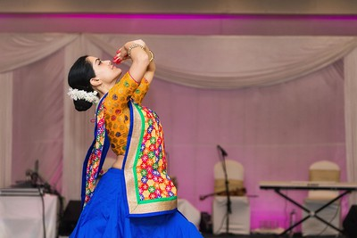 Bharatanatyam Performer at  Penda Party
