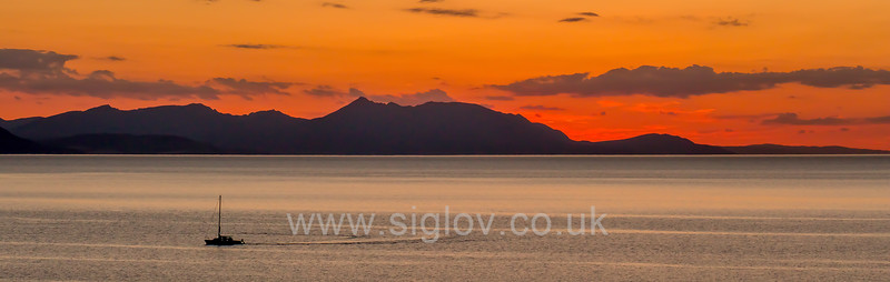 Arran from Dunure