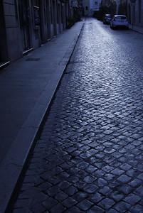 Rome Cobble stone road