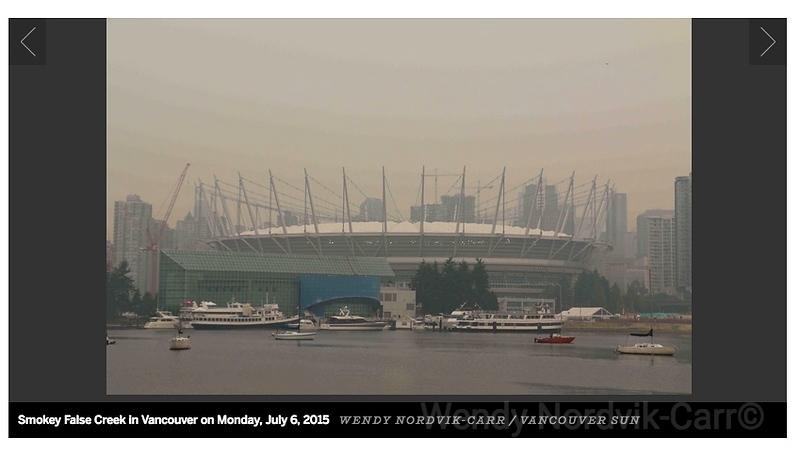 Smokey False Creek in Vancouver