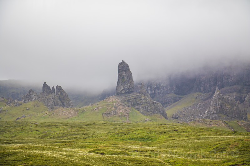 Old Man of Storr on the magical of the Isle of Skye, Scotland