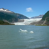 Spectacular Mendenhall Glacier in Juneau.  Top things to do Crusing to Alaska Ports of Call Shore Excursions
