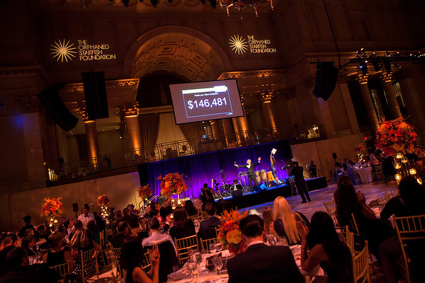 NEW YORK, NY - OCTOBER 18: The 2013 Orphaned Starfish Gala at Cipriani Wall Street