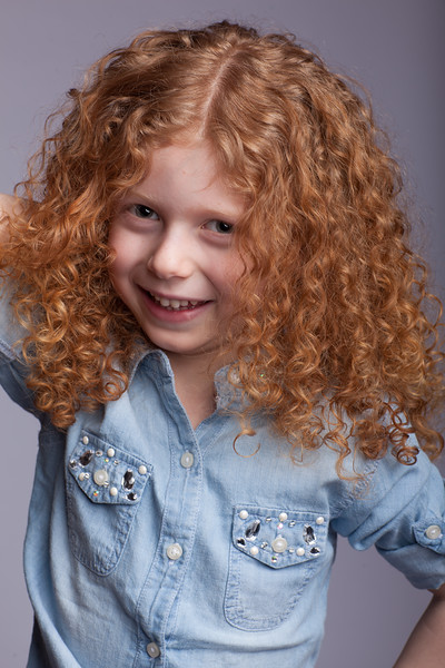 6 Year Old Girl Headshot