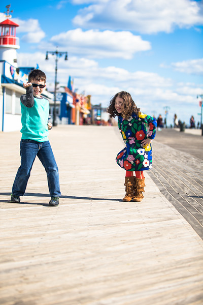 Family Portraits in Coney Island, Brooklyn