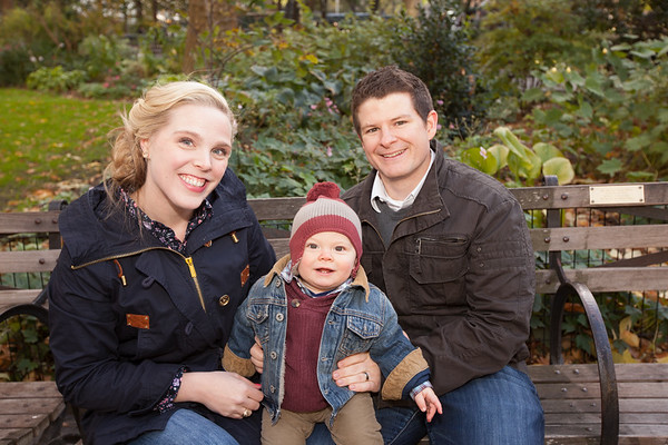 Family Portraits at Madison Park | Flat Iron District NYC