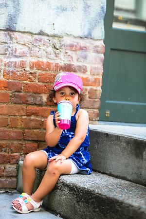 Phoebe's 2 1/2 Year Old Environmental Portraits in DUMBO