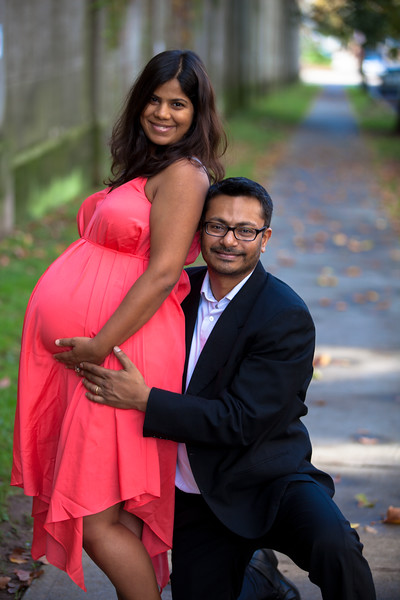 Pregnancy Portrait Session in Bay Ridge, Brooklyn