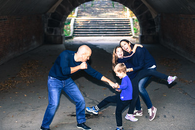 Fall Family Portraits in Central Park, NYC