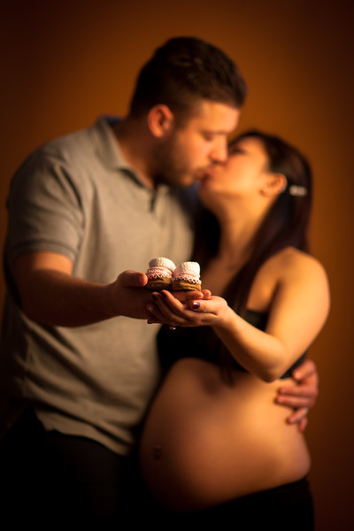 Pregnancy Studio Portraits in Bay Ridge Brooklyn