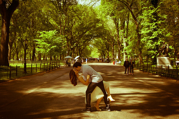 Love in Central Park | Couples Session - May 2014