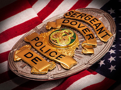 Dover PD Sergeant Badge