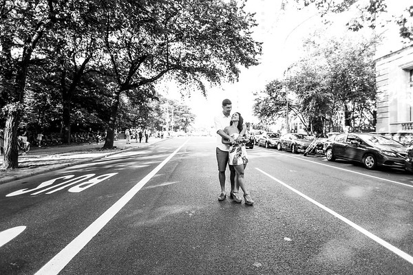 Engagement Lifestyle Shoot on the Upper West Side NYC (Photo by Daniel Marino, http://danmarinophoto.com)