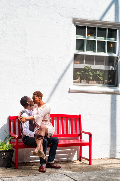 Engagement Session in Brooklyn Heights