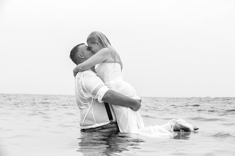 Trash The Dress | Alex & Kristi Parascandolo Wedding