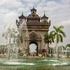 Victory Gate, Vientiane, Laos