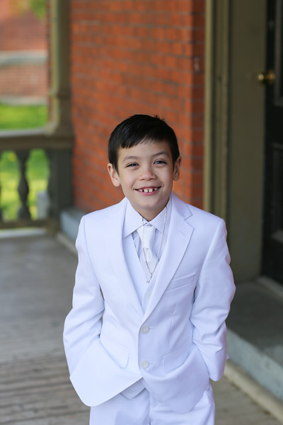 Anthony's Communion Portaits at Snug Harbor