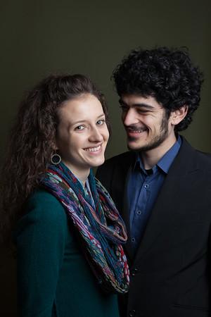 Engagement Portraits in Bay Ridge, Brooklyn
