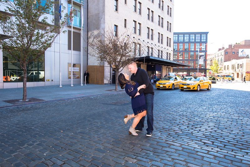 Engagement Session on the High Line