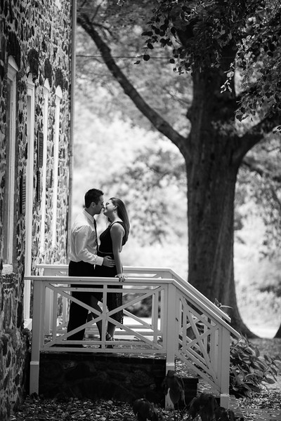 Engagement Portraits at the Conference House, Staten Island, NY