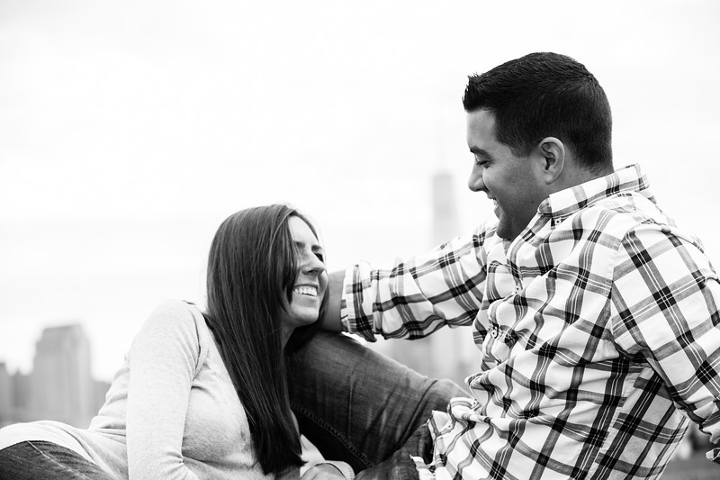 Couples Session at Hoboken Pier A