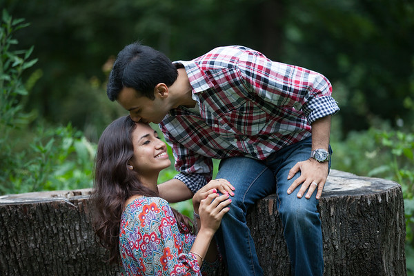 Couples Portrait Session in Prospect Park, Brooklyn, NY