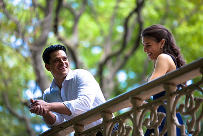Couples Engagement Session in Central Park, NYC
