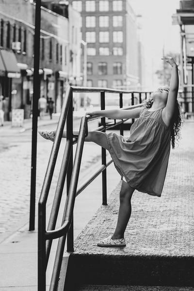 Ballet Fingers in DUMBO