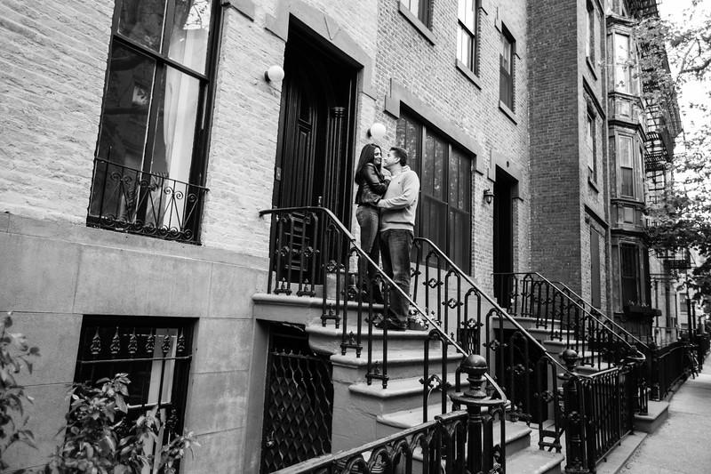Love in Carrol Gardens, Brooklyn