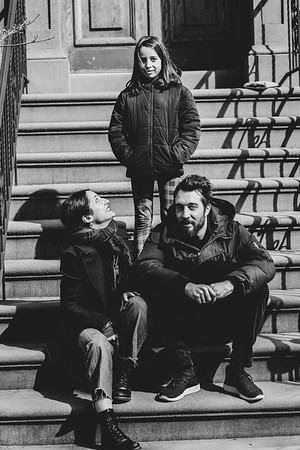 Family Session in Carroll Gardens, Brooklyn